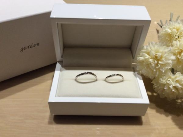 【和歌山】Little Gardenの結婚指輪