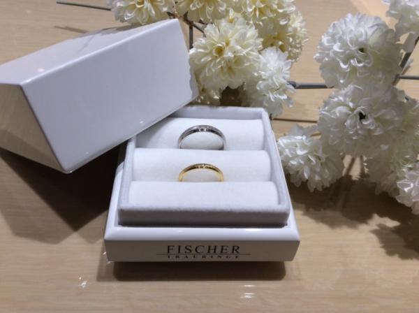 【兵庫】FISCHERの結婚指輪