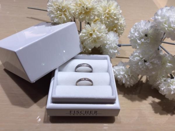 フィッシャー(FISCHER)の鍛造の結婚指輪1