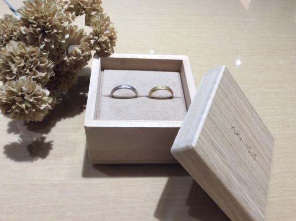 【奈良】YUKA HOJOの結婚指輪