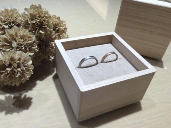 YUKAHOJO(ユカホウジョウ)の結婚指輪1