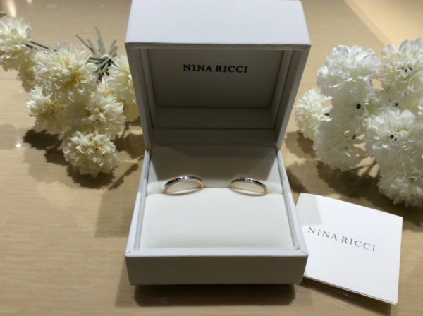 NINA RICCI(ニナリッチ)の結婚指輪