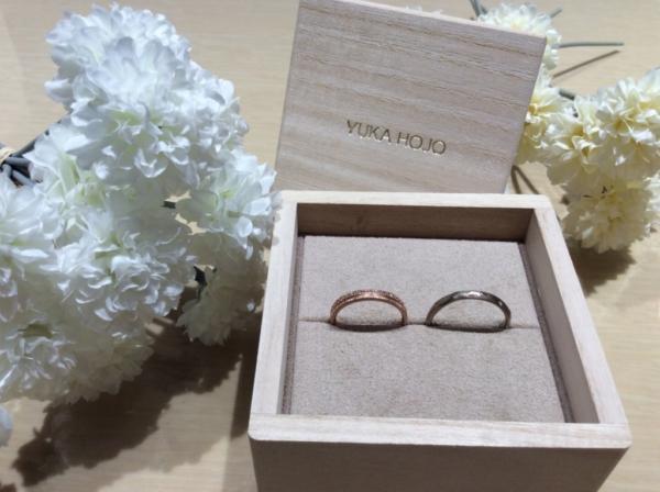 YUKA HOJO(ユカホウジョウ)の結婚指輪