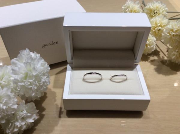 11♡22(いい夫婦)の結婚指輪1
