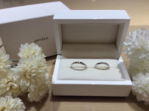 Pulito(プリート)の結婚指輪のgarden心斎橋