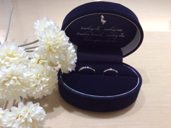 【大阪】Something Blue Aitherの結婚指輪