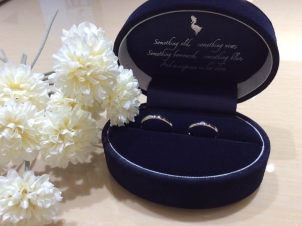Something Blue(サムシングブルー)の結婚指輪のgarden心斎橋