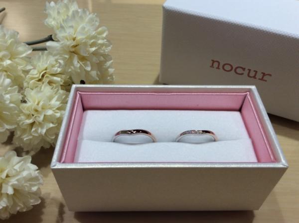 nocur(ノクル)の結婚指輪