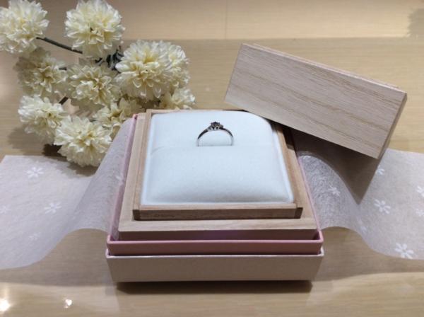 【大阪】BAUMの婚約指輪