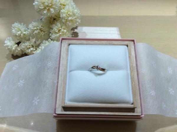 Lapage(ラパージュ)の婚約指輪のgarden心斎橋