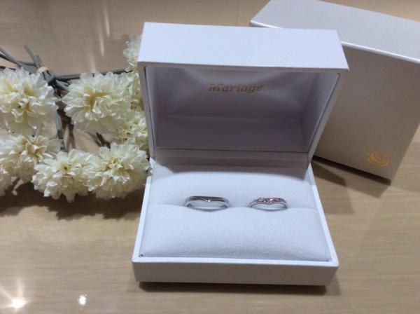 【大阪】Mariage entの結婚指輪