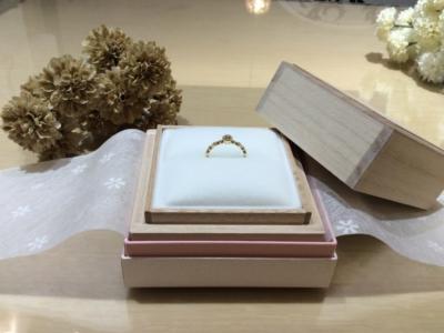 【兵庫】PAVEO CHOCOLATの婚約指輪