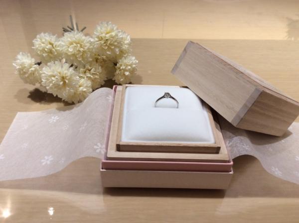 【大阪】garden Original の婚約指輪