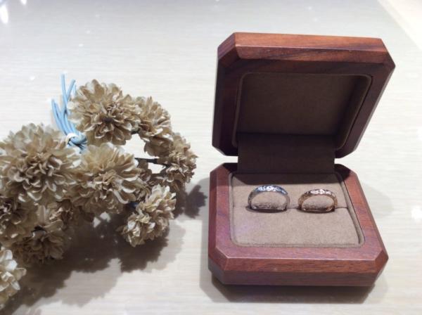 【兵庫】Makanaの結婚指輪