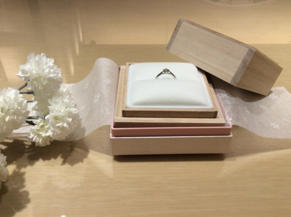 【大阪】garden Originalの婚約指輪