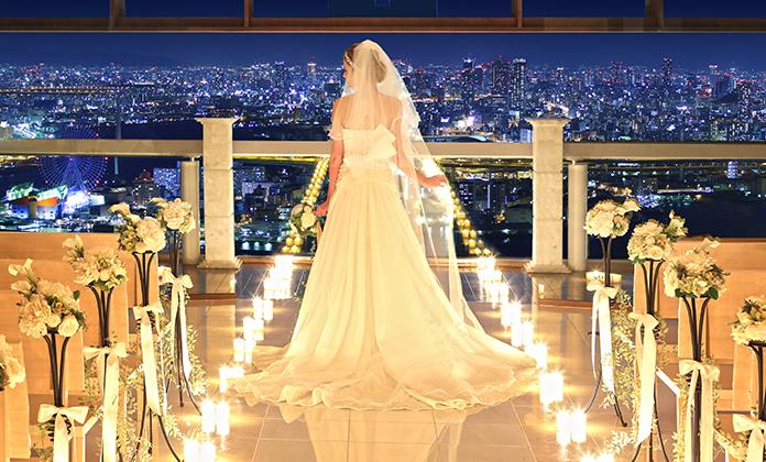 大阪・心斎橋おすすめの結婚式場でベイエリアウエディング モンジュイック