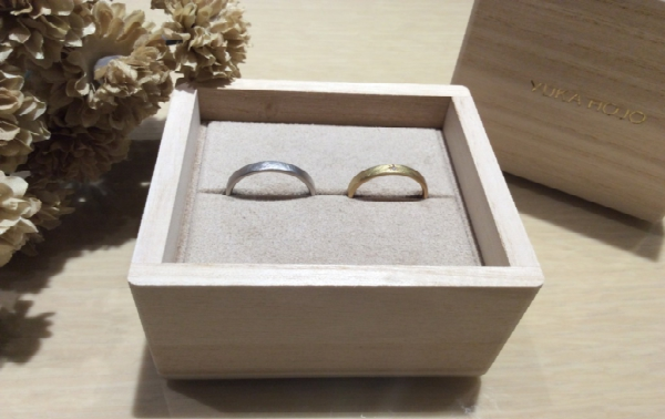 YUKA HOJO【ユカホウジョウ】の結婚指輪