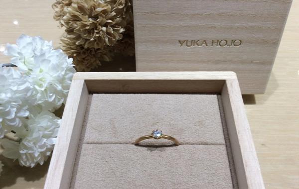 YUKA HOJO【ユカホウジョウ】の婚約指輪