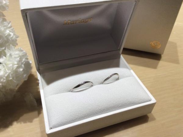 【兵庫】Quand de Mariageの結婚指輪