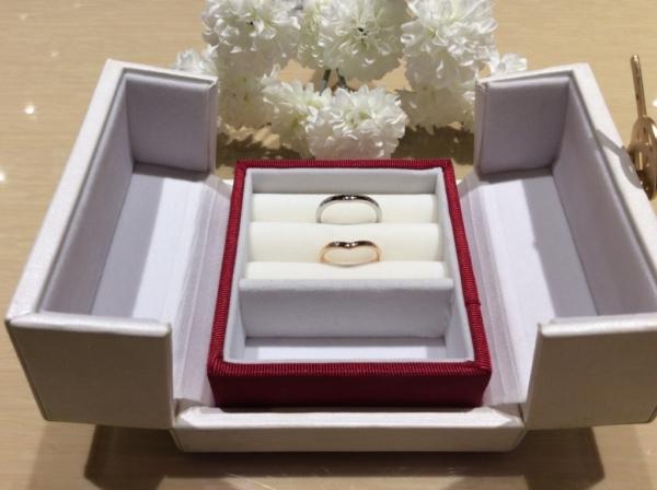 【大阪】ひなの結婚指輪