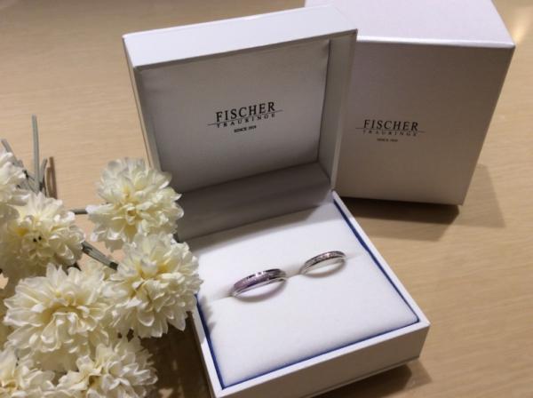 【大阪】FISCHERの婚約指輪