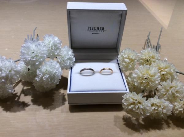 【大阪】FISCHERの結婚指輪