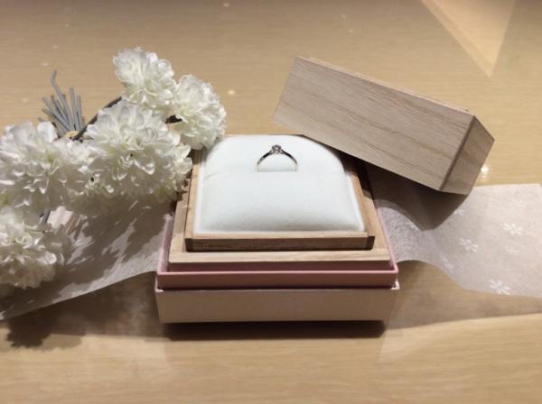 【大阪】彩乃瑞の婚約指輪