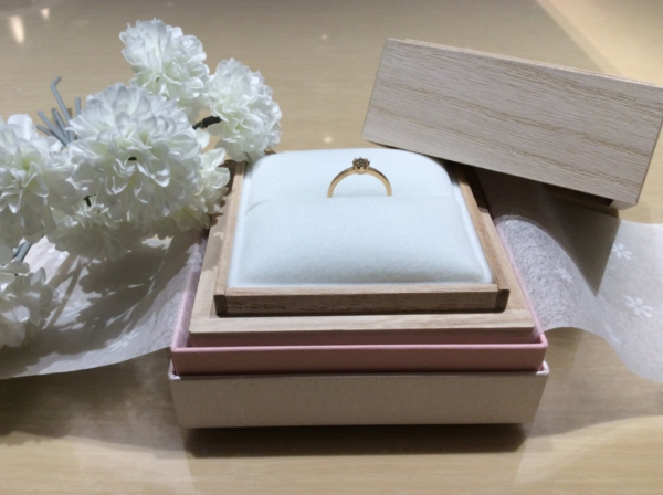 【大阪】YUKA HOJOの婚約指輪