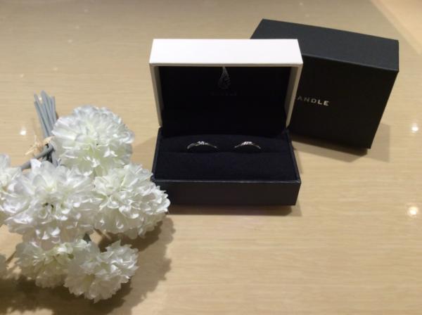 【京都】CANDLEの結婚指輪