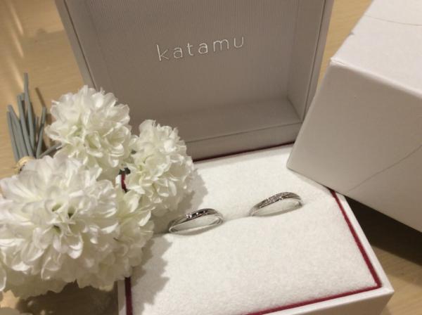 【奈良】Katamuの結婚指輪