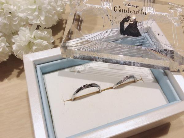 【奈良】Disney Cinderellaの結婚指輪
