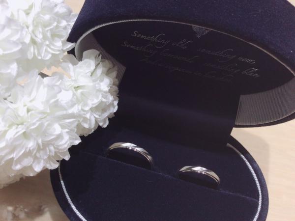 【大阪】Something Blueの結婚指輪