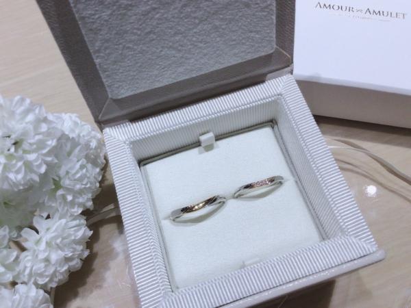 【兵庫】Amour Amuletの結婚指輪