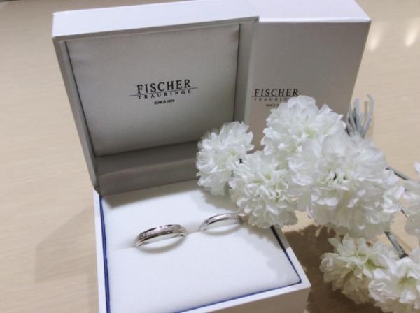 【和歌山】FISCHERの結婚指輪