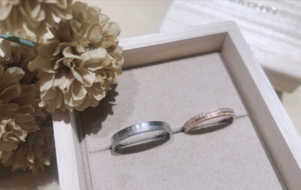 【大阪】YUKA HOJOの結婚指輪