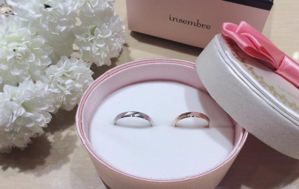 【大阪】insembreの結婚指輪