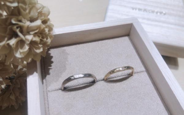【兵庫】YUKA HOJOの結婚指輪
