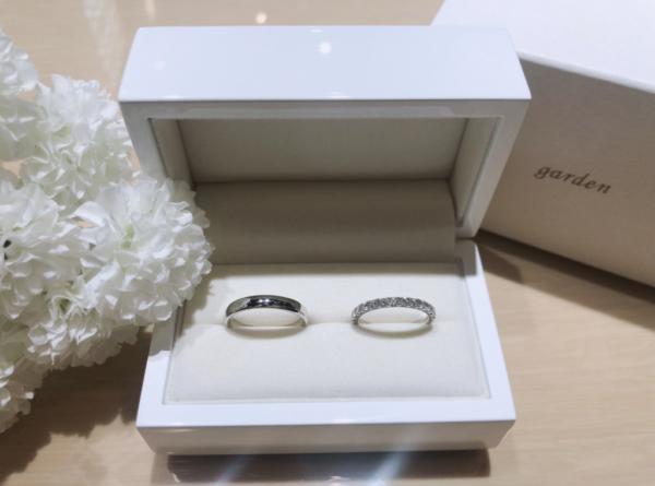 【兵庫】GRAMAの結婚指輪