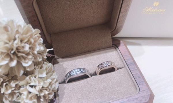 【和歌山】Makanaの結婚指輪