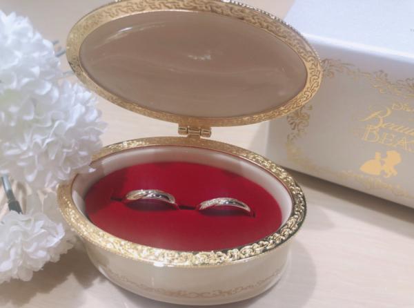 【大阪】Beauty and the Beastの結婚指輪