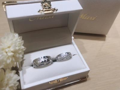 【大阪】Maxiの結婚指輪