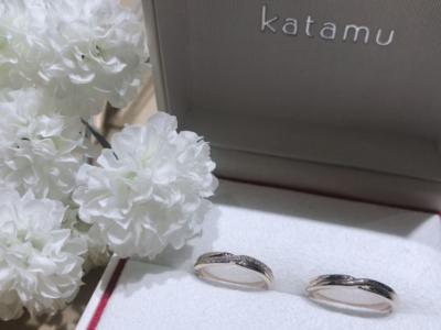 【兵庫】Katamuの結婚指輪