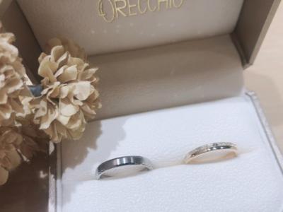 【大阪】ORECCHIOとFISCHERの結婚指輪