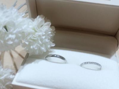 【大阪】GRACE KAMAとFISCHERの結婚指輪