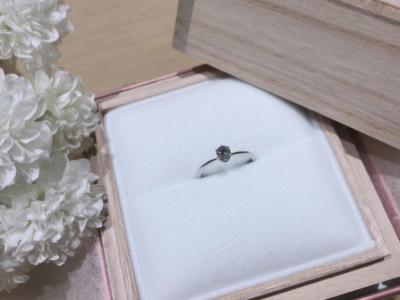 【大阪】星の砂の婚約指輪