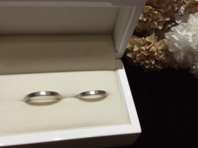 【大阪】手作り結婚指輪