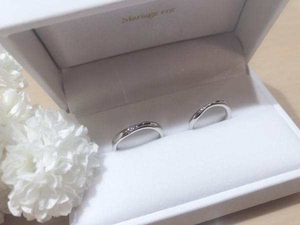 【兵庫】Mariage entの結婚指輪