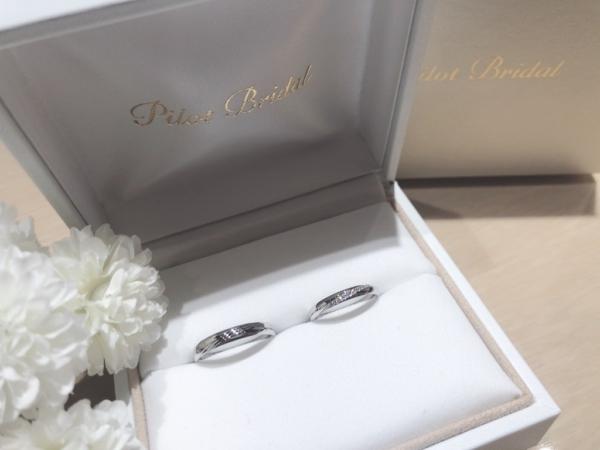 【大阪】Pilot Bridalの結婚指輪