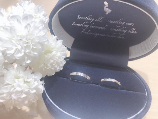 【兵庫】Something Blueの結婚指輪