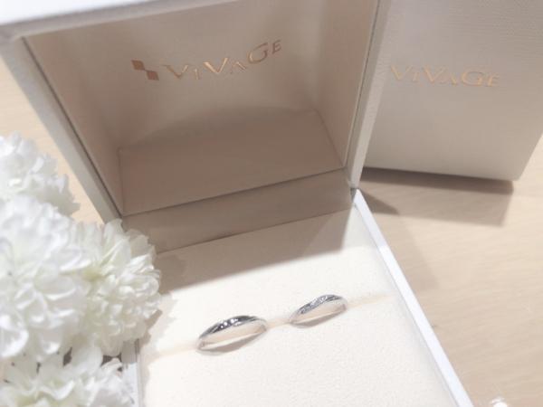【大阪】VIVAGEの結婚指輪
